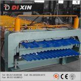 Roulis en acier de feuille de toiture d'Ibr de Double couche formant le constructeur de machine