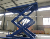 Heavy Duty table élévatrice à ciseaux hydraulique électrique pour le fret