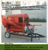 Молотильщик зерна пшеницы инструмента фермы с двигателем дизеля