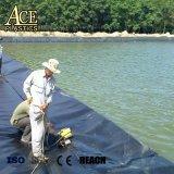 1mm/1.5mm 5.8m Geomembrana HDPE cultura agrícola para el estanque de peces/depósito/relleno/Canal/Lago/Estación de tren o revestimiento Revestimiento de túneles