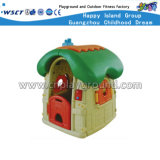Mushroom Kids Casa de jogos de plástico pequeno parque infantil (HC-16401)