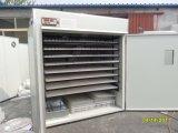Machine automatique approuvée d'incubateur d'oeufs de poulet de la CE avec la bonne qualité (KP-19)