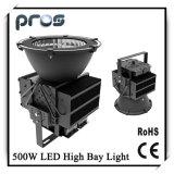 Indicatore luminoso industriale 500W IP65 della baia di angolo 50000lm LED di 25/45/60/90 di grado alto