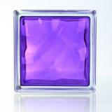 Mattone di vetro della Camera bei/blocco viola decorativi (JINBO)