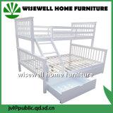 서랍 (WJZ-B395)를 가진 소나무 두 배 2단 침대 프레임