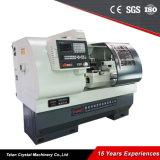 Лучшая цена мини токарный станок с ЧПУ в Китае Ck6136A-2