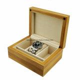 De stevige Doos van de Gift van het Horloge van het Bamboe Enige Houten
