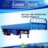 2-4 assi 50-60 tonnellate della parete laterale di carico di trasporto della base di rimorchio aperto semi (LAT9403)