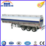 3車軸45cbm 7サイロが付いているアルミニウム原油か貨物またはディーゼルまたはPetroまたはガソリンまたは燃料または半ユーティリティタンクトラックのトレーラー