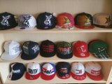 6 Logotipo Bordado Painel Sports cap Tampas Snapback Tampas de beisebol do logotipo personalizado