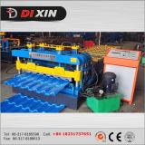 A folha bonita 1000 da telhadura da manufatura de China vitrificou o rolo da telha que dá forma à máquina