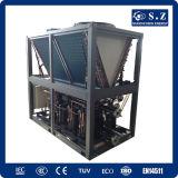 Chauffage central 60deg c Dhw 12kw, 19kw, 35kw, 70kw, réfrigérant de projet important de la pompe à chaleur de source d'air du pouvoir Cop4.23 de 105kw Save70% R410A