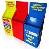 Cheap POS/pop avec affichage de carton pour les outils d'impression offset en magasin, présentoir de sol en carton