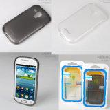 Samsung I8190/S3 Mini 用シリコン携帯電話ケース