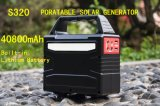 Gerador solar de energia solar gerador de energia solar com bateria de lítio