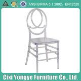 Chaise transparente bon marché en gros de Tiffany Phoenix de polycarbonate