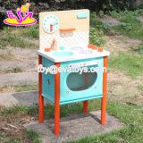 Venda de madeira W10c225 da cozinha do jogo do melhor brinquedo das crianças dos produtos novos