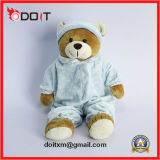 Orso molle su ordinazione dell'orsacchiotto del giocattolo della peluche dell'animale farcito dell'OEM per i capretti