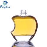 quadratische Glas-Wein-Flasche des Feuerstein-275ml