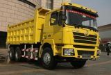 De kippersvrachtwagen van SHACMAN D'LONG 6X4 380hp met capaciteit 18CBM