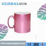 11oz Pink Sublimation Sparking Mug