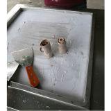 Sola máquina del helado de la fritada de la cacerola con las bandejas de la fruta