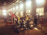 Commericalのボディービルのための腹部のクランチの練習機械体操の適性装置