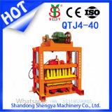 Feedback de alta Qtj Produto Mecânica4-40 máquina para fabricação de tijolos de concreto