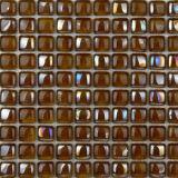 混合されたカラープールガラスのタイル