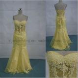 Vestito da cerimonia nuziale puro del corsetto del corsetto/vestito nuziale (angela-193)
