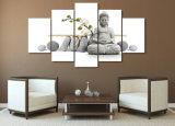 HD Impreso Piedra Buda Pintura Lienzo Impresión Decoración de la habitación Impresión Cartel Lienzo de la imagen Mc-053