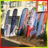 Флаги пера Teardrop лезвия пляжа летания качества изготовленный на заказ