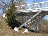 Les piétons et les ponts Cycleway en aluminium/aluminium/pont plate-forme de structure en aluminium