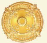 Het Afgietsel van de Kroonlijst van het Medaillon van het Plafond van Pu