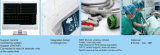 15 Zoll-multi Parameter-Patienten-Überwachungsgerät mit Ablagekasten in der Rückseite