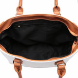 Kontrast-Farbegroße beiläufige Tote-Frauen-Handtasche (MBNO041027)