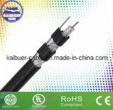 CATV Tri - Sheild RG11 cable coaxial con el Mensajero
