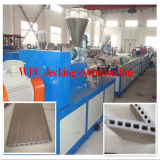 Maquinaria da fabricação do perfil do Decking do Madeira-Plástico