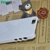 casse lucide del telefono delle cellule di sublimazione del silicone 3D per il iPhone 5