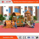 Escalada de madeira estilo engraçado Deslize o equipamento de Diversões (HD-MZ038)
