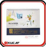 Calendario decorativo con papel reciclable 2017