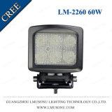 Arbeits-Lampe CREE 60W des 5.3 Zoll-nicht für den Straßenverkehr fahrenden Licht-Selbst-LED