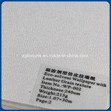 Documento di parete di qualità di stampa di Eco migliore della carta da parati del cuoio di struttura solvibile del grano