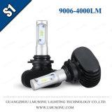Lampada capa capa massima minima automobilistica delle lampadine 12V LED del faro dell'automobile LED dell'indicatore luminoso 35W 4000lm del faro di Lmusonu S1 9006 LED