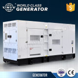 Торговая марка Univ Китая Японии на заводе Denyo конструкция двигателя Perkins 230 ква Super звуконепроницаемых дизельного генератора