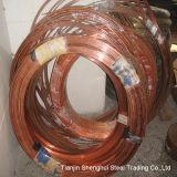 Bobina de panqueca de qualidade superior do tubo de cobre (C11000)