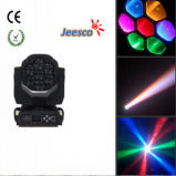 7*15W RGBW 4in1 LED Moving Head Light met Zoom Point Control