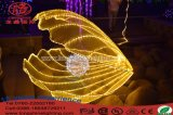 LED Sea World Shell luz decorativa para o Sea Park