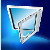 Painel único de alumínio de abertura para dentro e gire a janela de Inclinação