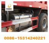 Beste Vrachtwagens van de Stortplaats HOWO van de Lage Prijs van de Voorwaarde Gebruikte 12 de Kipper van Banden voor Dr. Congo Market
